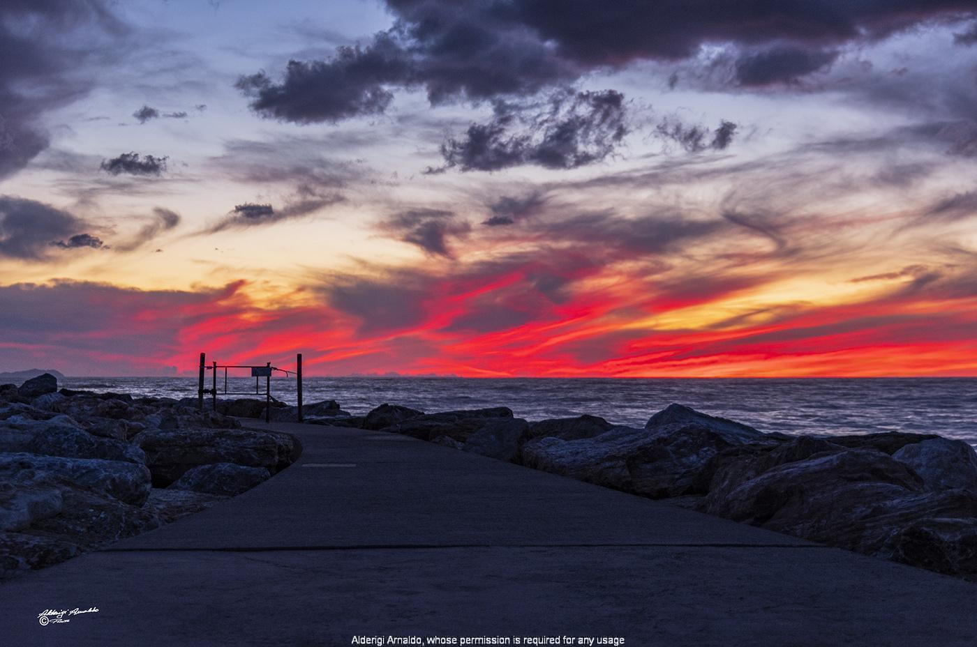Alderigi Arnaldo Fotografo - SEA SUNSET - Photo Gallery